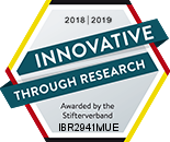 "IBR is honored for its research activities from: ""Donors' Association for Science in Germany"""